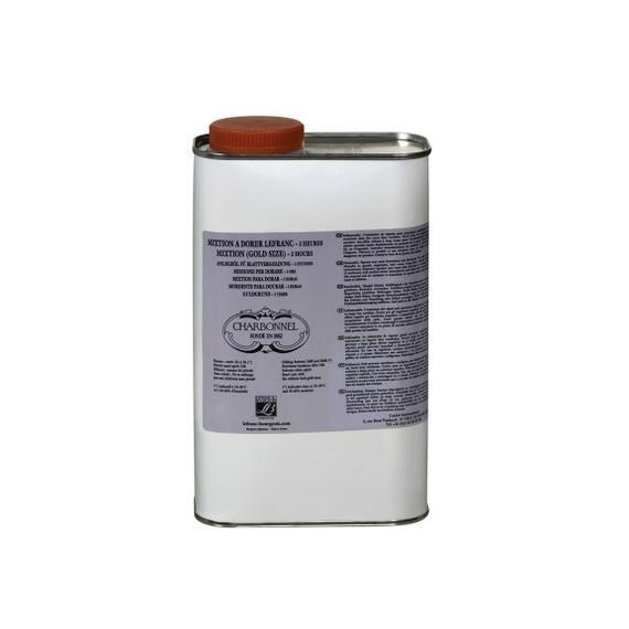 Mixtion à dorer CHARBONNEL - A l'huile - 3 Heures - 1 litre