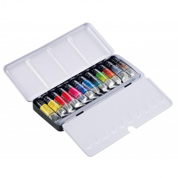 Boite aquarelle SENNELIER - Extra-fine - 12 tubes de 10 ml (Métal)  N131611