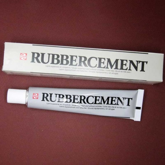 Colle RUBBER CEMENT - Tube 10 (60 ml)