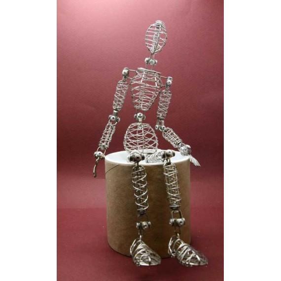 Mannequin THE DOODLES Man Adam - En fil de fer - Homme