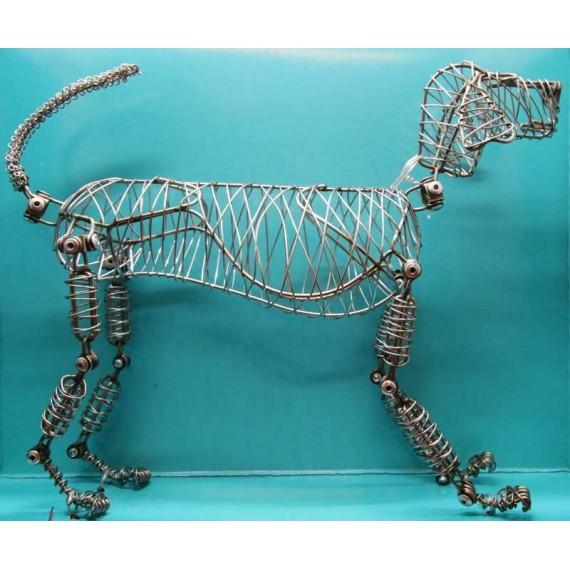 Mannequin THE DOODLES Dog  - En fil de fer - Chien