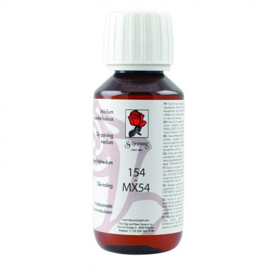 Médium porcelaine SCHJERNING MX54 Huileux - Flacon: 125 ml