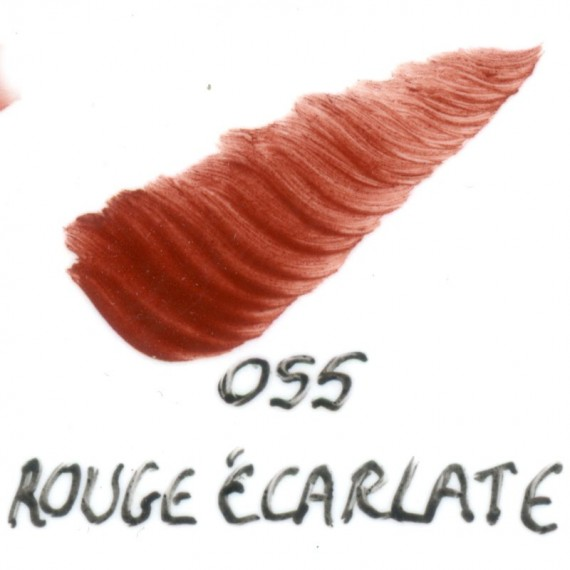 Couleur porcelaine SCHJERNING - Pot de 8 gr - Rouge écarlate 055