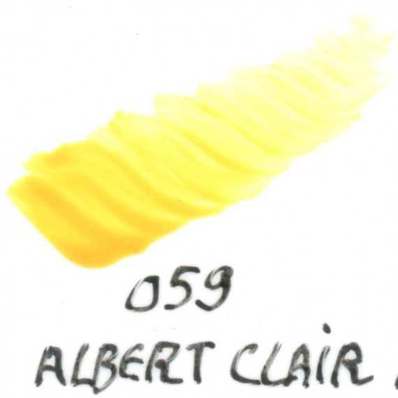 Couleur porcelaine SCHJERNING - Pot de 8 gr - Jaune Albert clair 059
