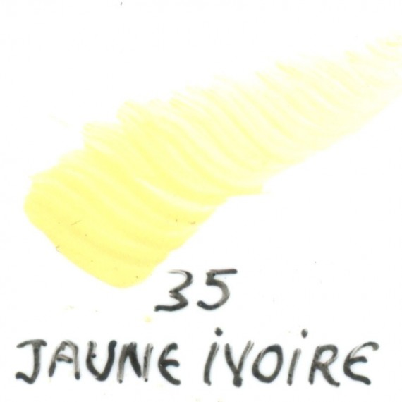 Couleur porcelaine SCHJERNING - pot de 8 gr - Jaune ivoire mais 035
