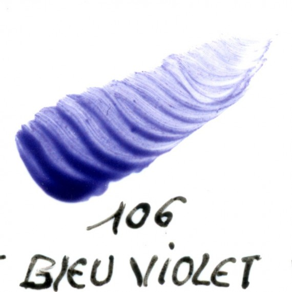 Couleur porcelaine SCHJERNING - Pot de 8 gr - Bleu violet 106