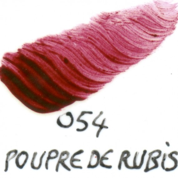 Couleur porcelaine SCHJERNING - Pot de 3 gr - Pourpre de rubis 054