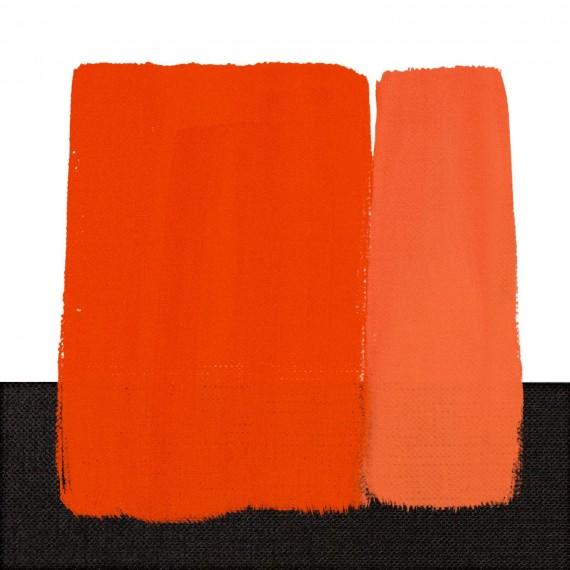 Couleur huile RESTAURO - Série: 4 - Tube:20 ml - Rouge de Cadmium orange