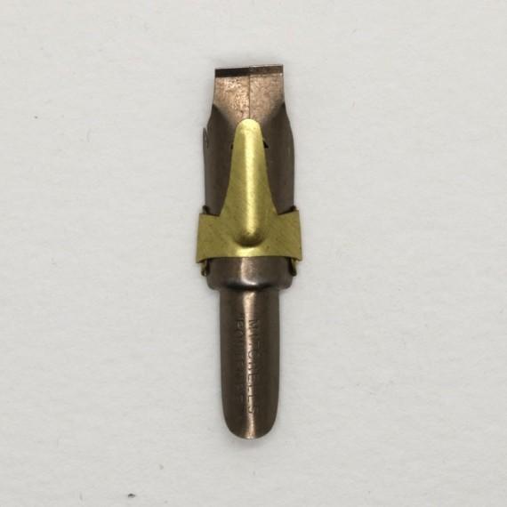 PLUME POSTER AVEC RESERVE BRONZE L19 - 9 MM