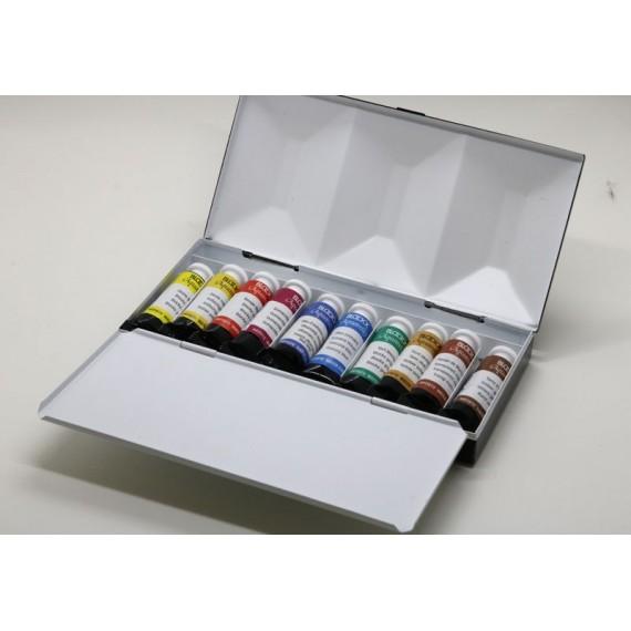 Boite aquarelle BLOCKX - Extra-fine - 10 Tubes - 5 ml - 4.3.510