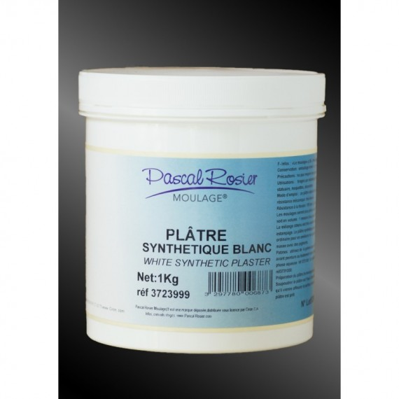 PLATRE SYNTH. COULAGE BLANC 1 Kg 3723999