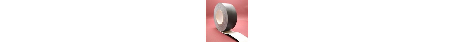 ADHESIF TOILE PLASTIFI1200 Rl 38 mm 25 M NOIR