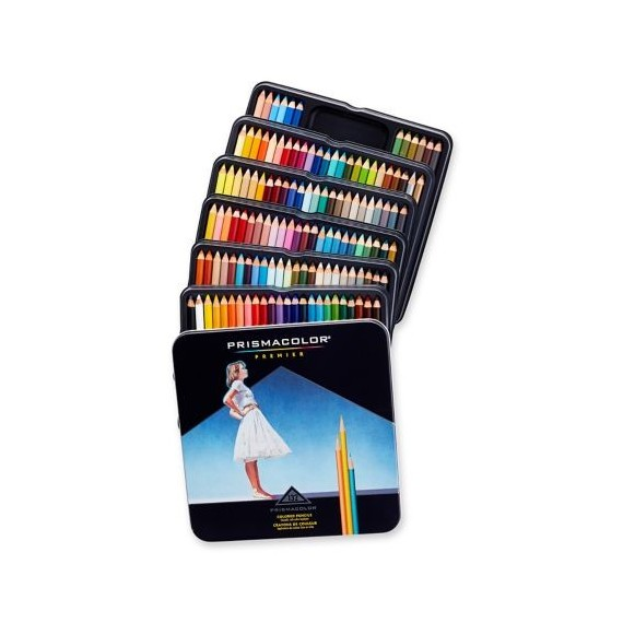 Boite crayon aquarelle PRISMACOLOR - 36 Crayons assortis