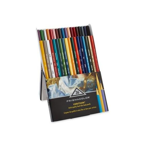 Boite crayon PRISMACOLOR PREMIER VERITHIN - 36 Crayons assortis