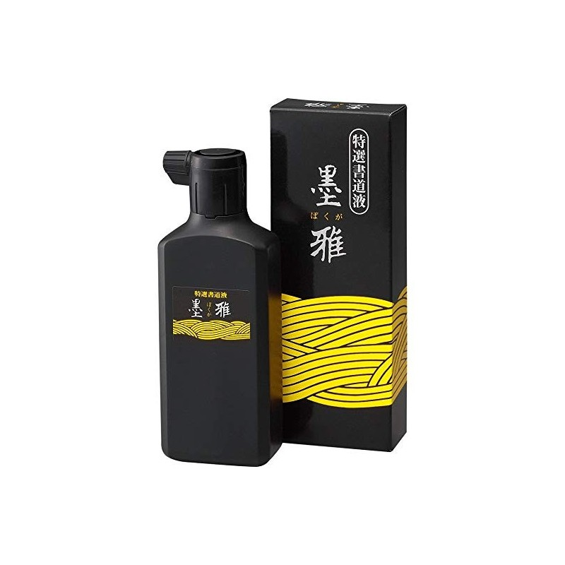 Encre noire JAPONAISE KURETAKE Bokuga- Encre noire - 200 ml - BA19-20