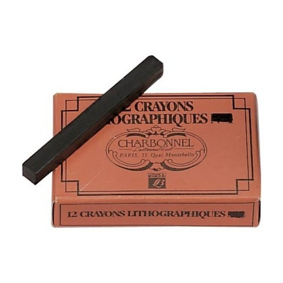 Crayon litho CHARBONNEL - (Craie carré)
