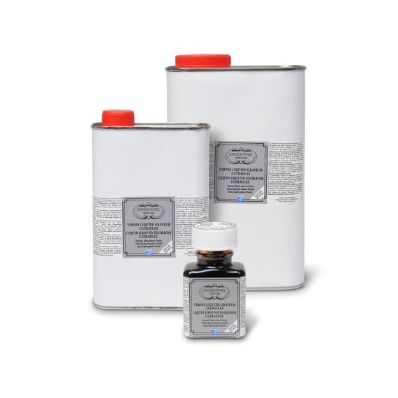 Vernis gravure CHARBONNEL Ultraflex - Liquide graveur - F:75 ml