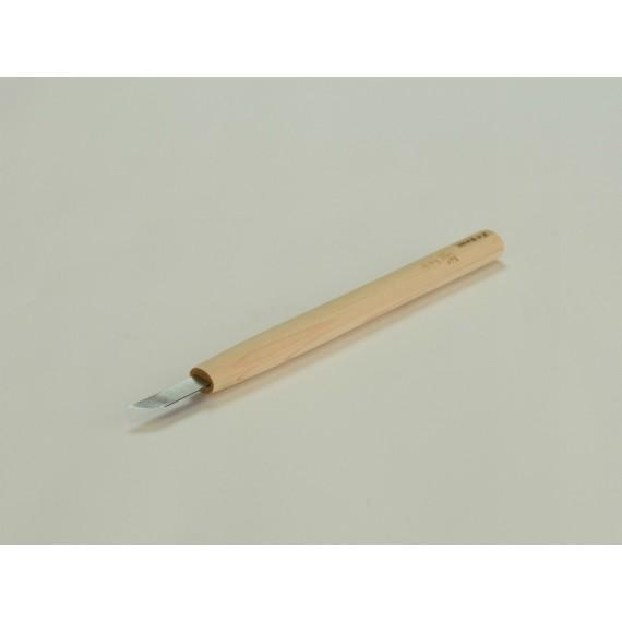 COUTEAU GRAVURE NAGINATA LAME COURBE 4.5 mm