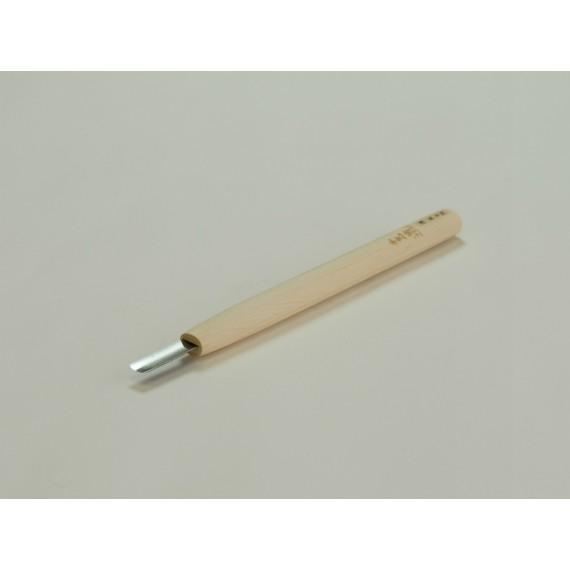COUTEAU GRAVURE ASAMARU FORME EN U PLATE 4.5 mm