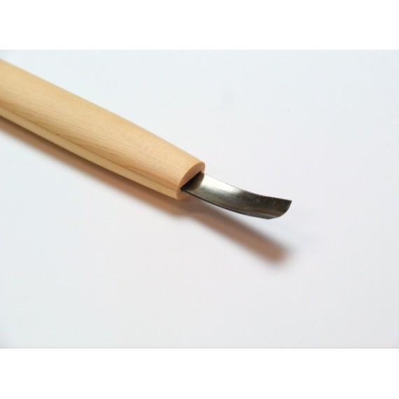 COUTEAU GRAVURE ASAMARU FORME EN U PLATE COURBE 9.0 mm