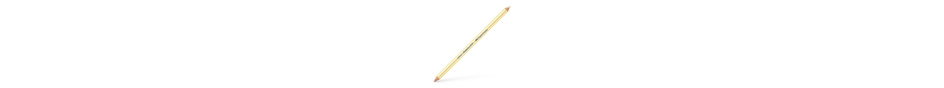 Crayon gomme FABER & CASTELL Perfect - Gomme double