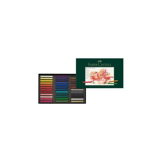 Boite pastel sec FABER & CASTELL Polychromos -  36 Pastels Polychromos 128536 (Métal)