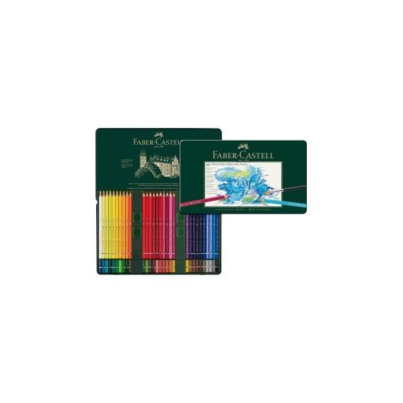 Boite crayon aquarelle FABER & CASTELL Abrecht Durer - 60 crayons 117560 (Métal)