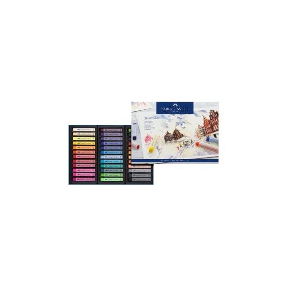 Boite pastel sec FABER & CASTELL Créative studio - 36 Pastels secs - 128336