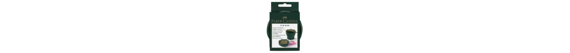 Gobelet à eau FABER & CASTELL - CLIC & GO - Vert