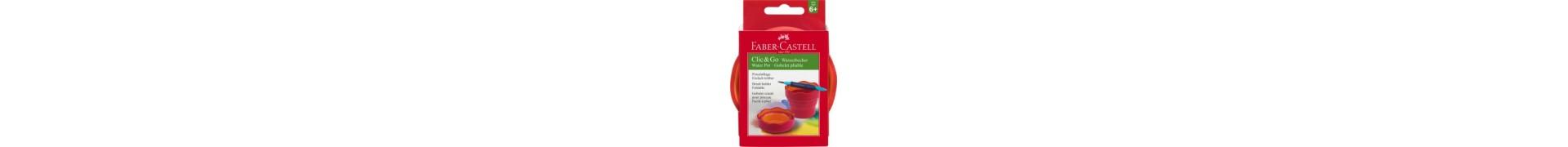 Gobelet à eau FABER & CASTELL - CLIC & GO - Baie