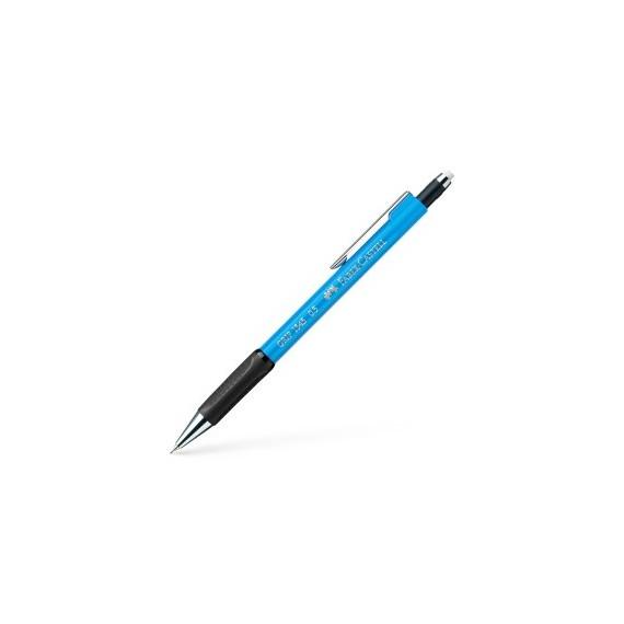 Porte-mine FABER & CASTELL Grip - Pour mine 0.5 mm - Bleu clair