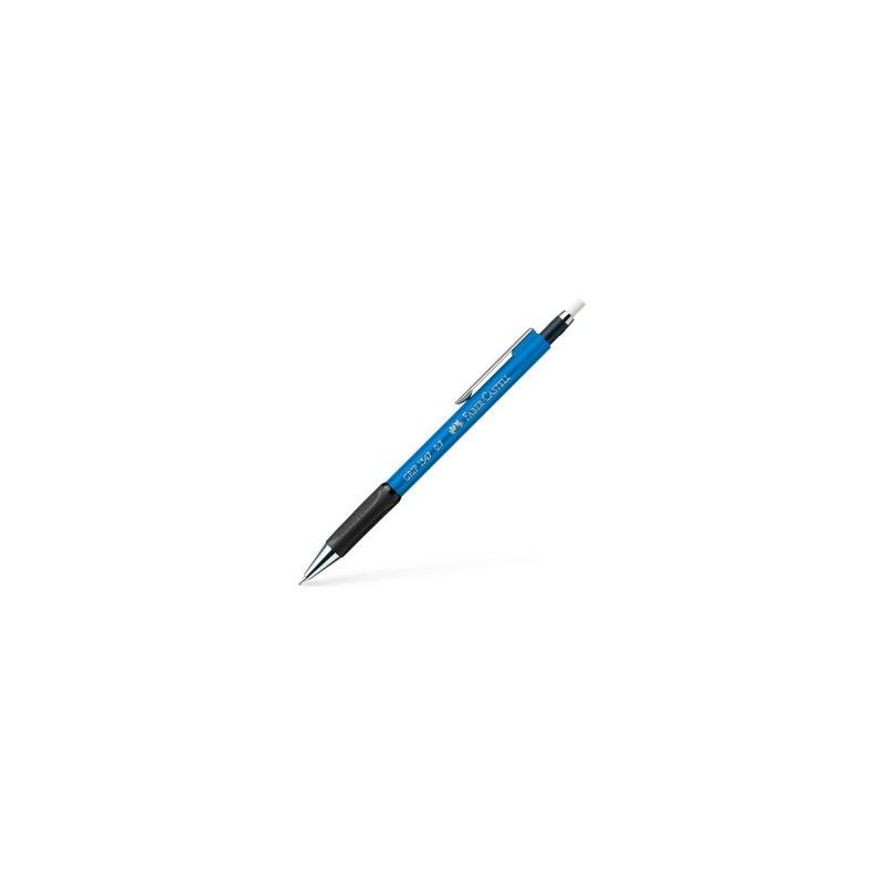 Porte-mine FABER & CASTELL Grip - Pour mine 0.7 mm - Bleu clair
