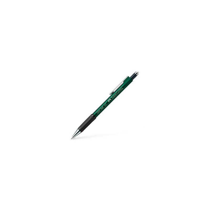 Porte-mine FABER & CASTELL Grip - Pour mine 0.7 mm - Vert