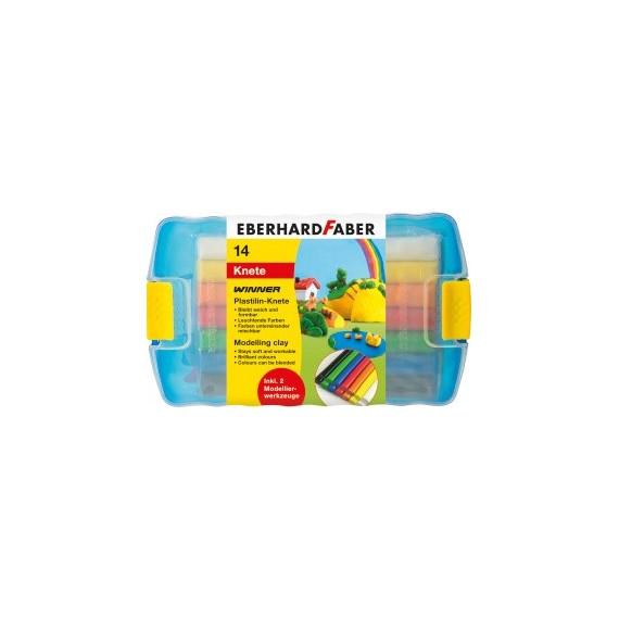 Boite pâte à modeler FABER & CASTELL - Set basic de 10 pains  572010