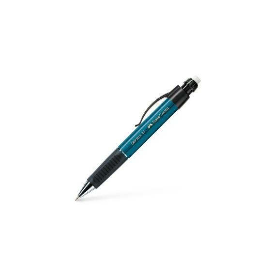 Porte-mine FABER & CASTELL Grip plus 2011 - Pour mine 0.7 mm - Bleu pétrôle