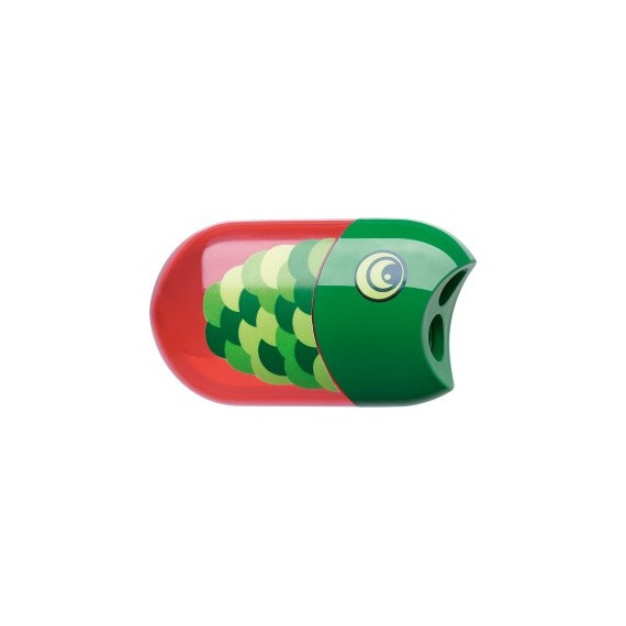 Taille-crayon FABER & CASTELL + Gomme Poisson - 183525