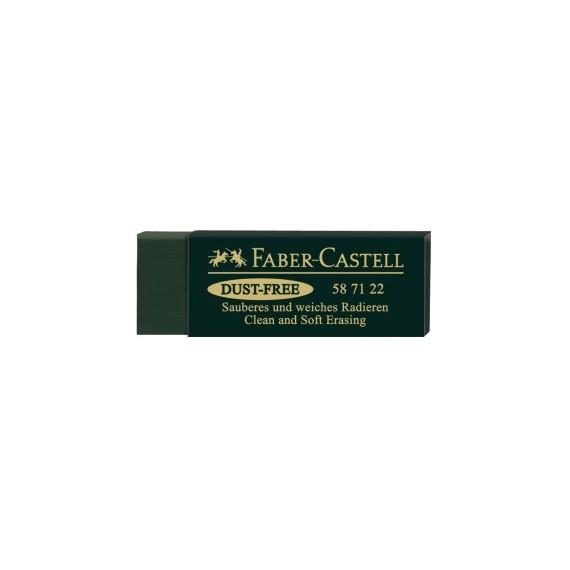 Gomme FABER & CASTELL Dust free - Vert