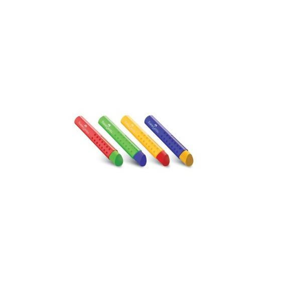 Gomme FABER & CASTELL Tri PVC-free - Couleurs