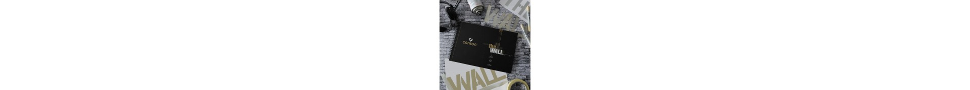 Album CANSON The wall - Format: (A4+) - 220 gr - 30 feuilles