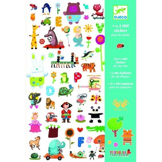 Stickers DJECO - 1000 stickers