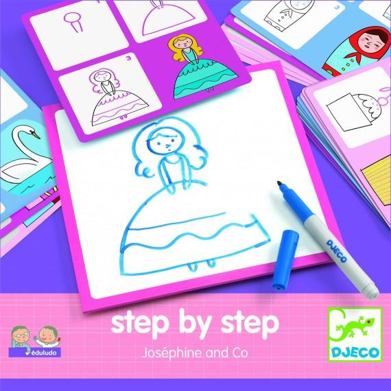 Eduludo DJECO -  Step by step - Joséphine & co