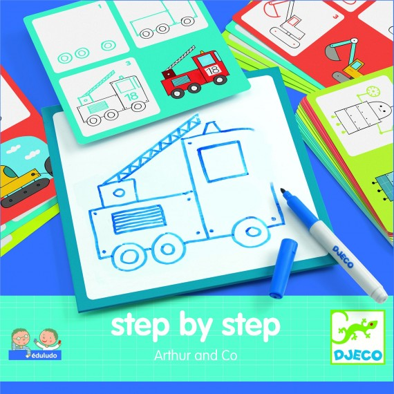 Eduludo DJECO - Step by step - Aarthur & co