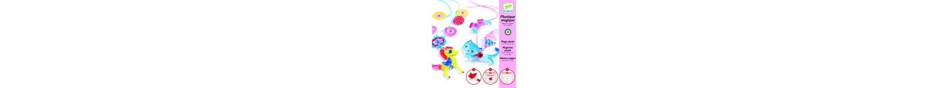 Plastique magique DJECO  - Chaton et poney