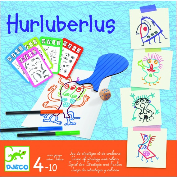 Jeu EDUCATIF  - Hurluberlus