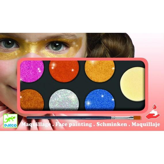 Maquillage - Palette et accessoires 6 - Effet métal