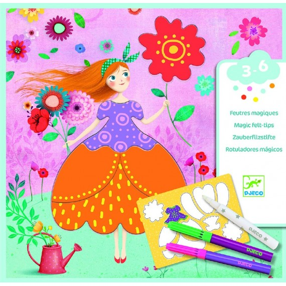 Les couleurs - Les jolies robes de Marie