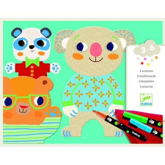 Boite Coloriage pour les petits DJECO - Les Mimis