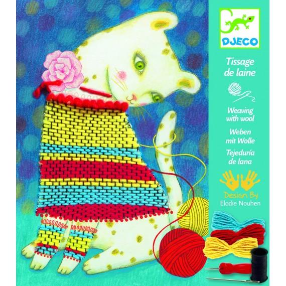 Tissage de laine DJECO - Pull et pelotes