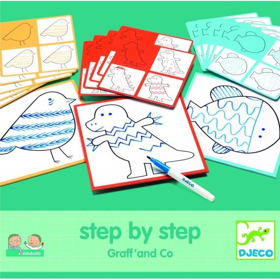 Eduludo DJECO - Step by step - Graff' & co