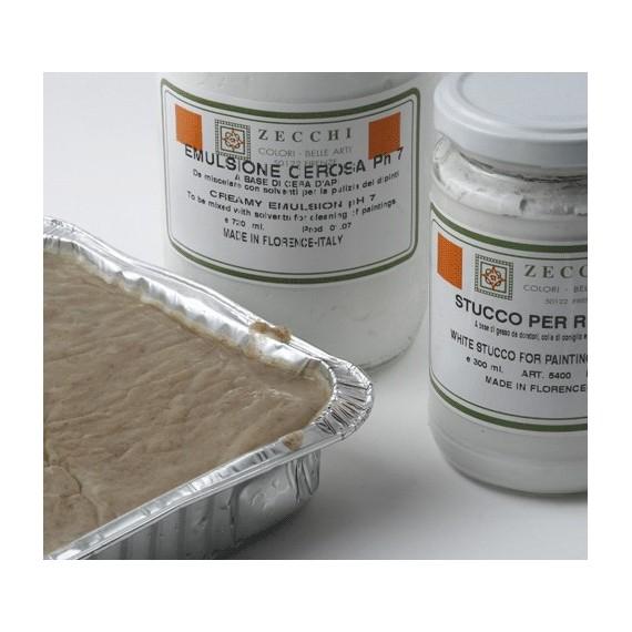 Emulsion  ZECCHI Cerosa - (Nettoyage tableaux ) - Pot:300 ml